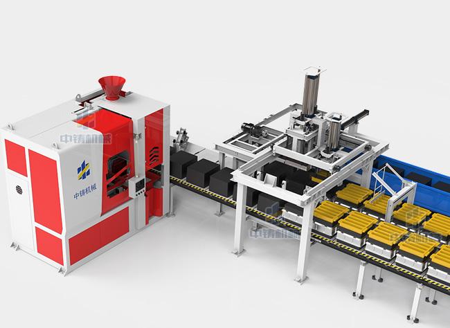 全自动造型机生产线