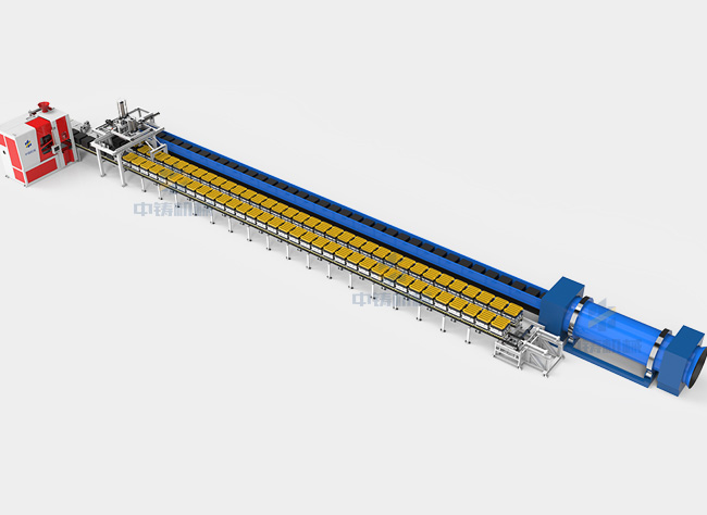 全自动铸造造型机生产线