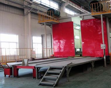 造型机生产设备-新型喷漆房