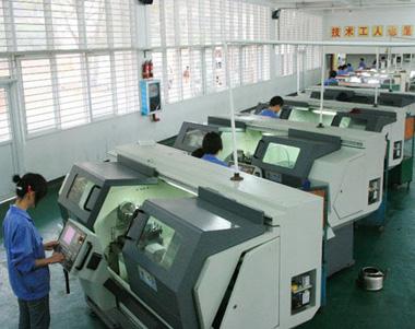 造型机生产设备-数控车床加工